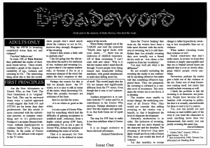 Broadsword Issue 01